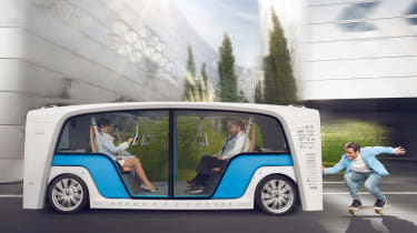 Rinspeed Snap - moving