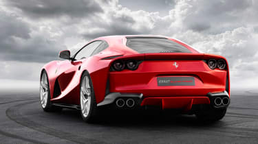 Ferrari 812 Superfast rear