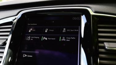 Volvo XC90 long-term test - infotainment