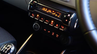 Suzuki Ignis - centre console