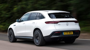 Mercedes EQC - rear