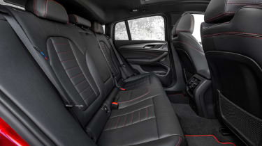 BMW X4 - back seats