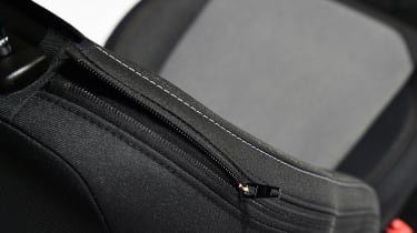 Ford Puma - studio seat detail