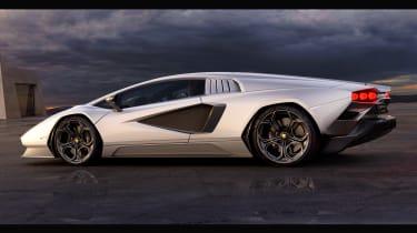 Lamborghini Countach LPI 800-4 side