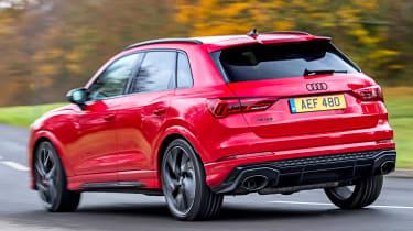 Audi RS Q3 - rear cornering