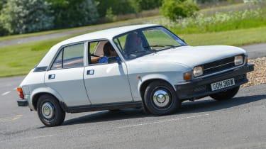 Top 10 worst cars - Austin Allegro front cornering 3