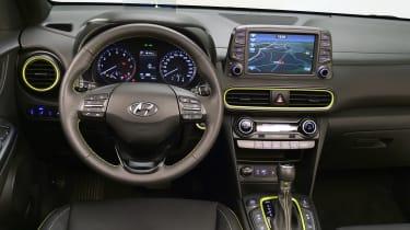 Hyundai Kona studio - dash