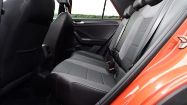 vw t-roc interior rear seats