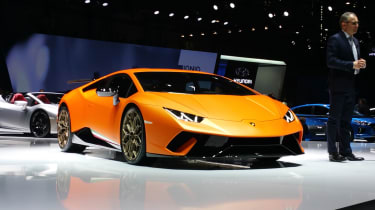 Lamborghini Huracan Performante Geneva stand 2017