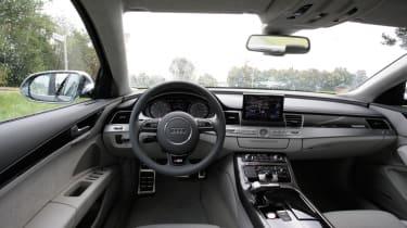 Audi S8 dash