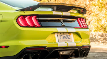 Ford Mustang Shelby GT500 - rear static