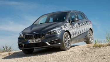 BMW 2 Series Active Tourer eDrive - front