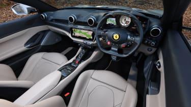 Ferrari Portofino - interior door