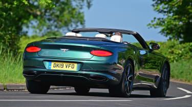 Bentley Continental GT Convertible - rear action