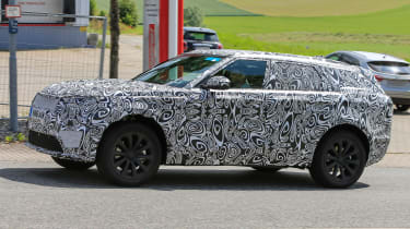 Range Rover Sport Coupe - spy shots side