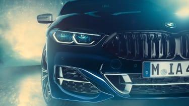 BMW M850i Night Sky - grille