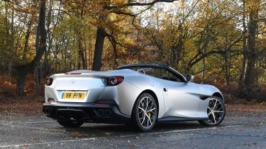 Ferrari Portofino - rear static roof down