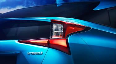 Toyota Prius - rear badge