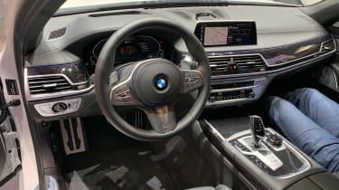 BMW 7 Series facelift - Geneva dash