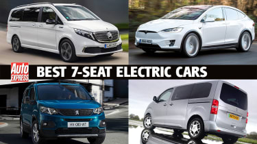 Best 7-seat electric cars header image
