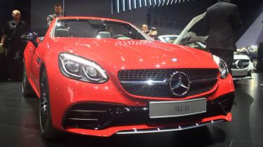 Mercedes SLC - front show