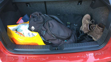 SEAT Ibiza - boot
