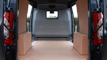 Load spaces vary from 5.0 cubic metres to 7.0 cubic metres.