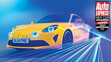 Alpine A110 - New Car Awards 2021