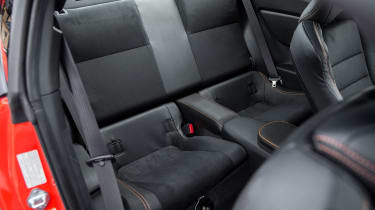 Toyota GT86 Orange Edition - rear seats