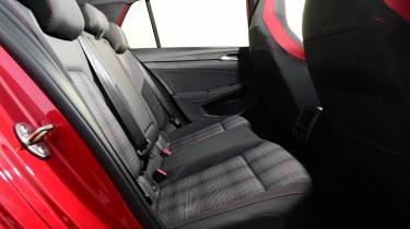 Volkswagen Golf GTI manual - rear seats