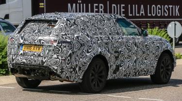 Range Rover Sport Coupe - spy shots rear quarter 3