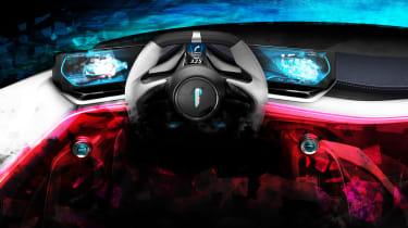 Automobili Pininfarina FP0 - dash