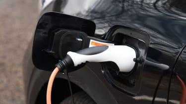 Kia Niro PHEV - plugged-in
