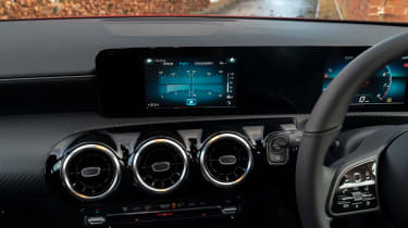 Mercedes A 180 SE - navigation