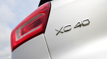 Volvo XC40 rear badge