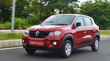 Renault Kwid - front tracking