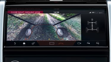 Land Rover Discovery Sport - camera