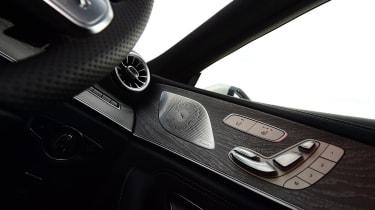Mercedes CLS seat controls