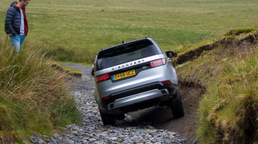 Green Laning  - Land Rover Discovery titling
