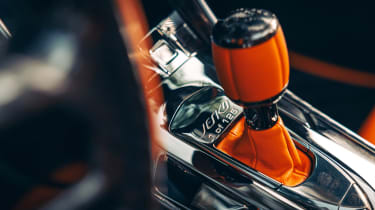 Koenigsegg Jesko 2021 production car - gear lever