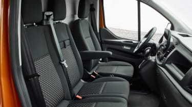 New 2017 Ford Transit Custom cab