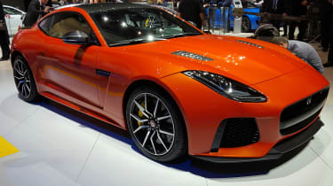 Jaguar F-Type SVR revealed in Geneva 2016 - Front
