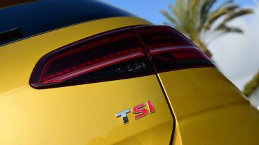 Volkswagen Golf 2017 facelift 1.5 TSI EVO - rear light