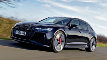 Audi RS 6 - front tracking