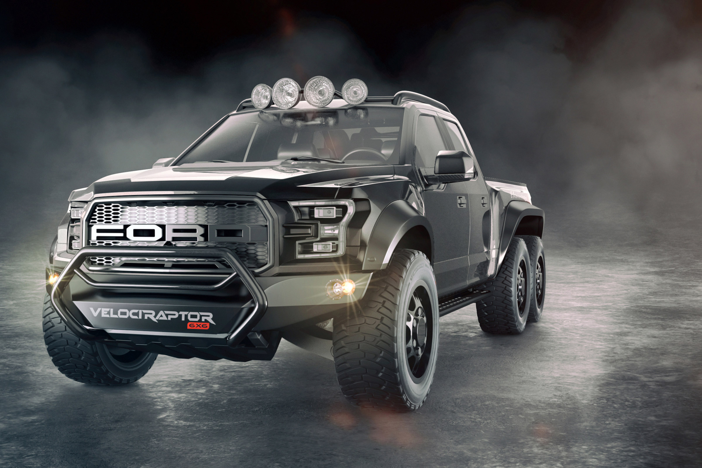 Henessey Velociraptor Is A Mad Mutant Ford Raptor Pick Up Auto Express