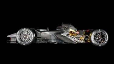 GR Super Sport - side profile no body