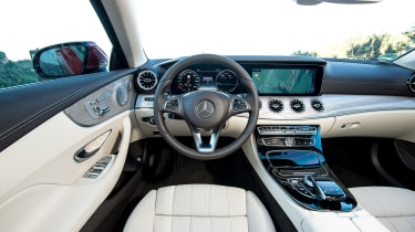 Mercedes E-Class Coupe - E 220d interior