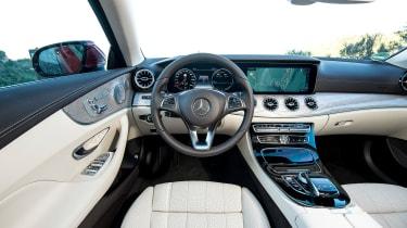 Mercedes E-Class Coupe - E 220d interior