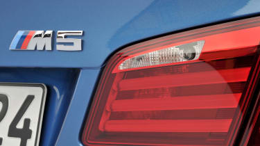 BMW M5 badge