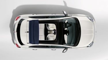 Fiat 500X Dolcevita - above